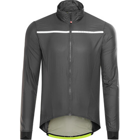 Castelli Superleggera Giacca Uomo, anthracite/yellow fluo